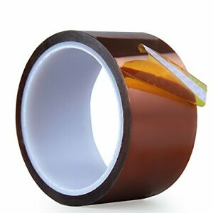 High Temp Tape aiyunni 2 Inch X 108 Ft Polyimide High Temperature Resistant New