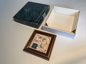 Boxed Maw Company Design Framed Baroque Tile Teapot Stand H R Johnson Unused