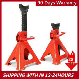 1 Pair 23 Racing Jack Stands 6 Ton 12000lb Heavy Duty For Car Truck Garage Auto