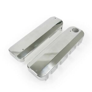 Fabricated Polished Aluminum Ls Coil Covers Gm Chevy Fill Neck Ls1 Ls2 Ls3