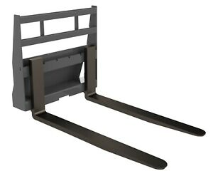 Mini 42 Pallet Forks Frame material Handling Skid Steer Attachment Berlon