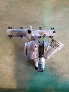 Oem Rebuilt Turbo And Manifold For 99 04 Vw Jetta Deisel 1 9 Liter Tdi