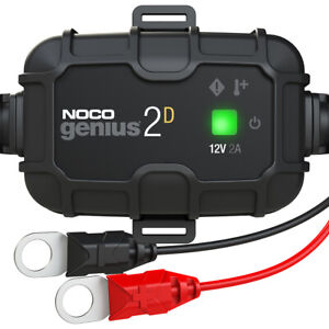 Noco Genius2d 2 amp Direct mount Onboard Charger 12v Battery Charger