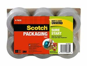 Details About 3m Scotch Moving Storage Packing Tape 6 Rolls Heavy Duty Shipp