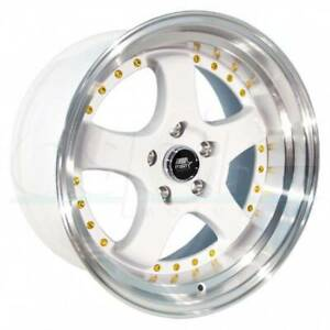 Mst Mt07 18x8 5 5x114 3 20 White Wheels 4 73 1 18 Inch Rims