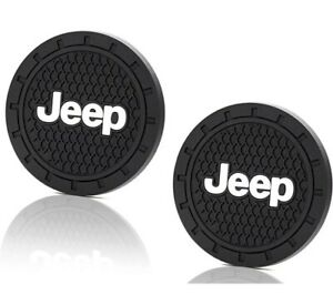 Jeep Car Truck Suv Cup Holder Insert Coaster 2 Piece 2 75