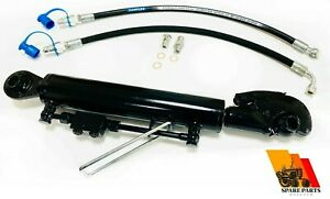 Hydraulic Top Link Cat 2 2 Catch Hook 300 Mm Stroke Locking Block With Hoses