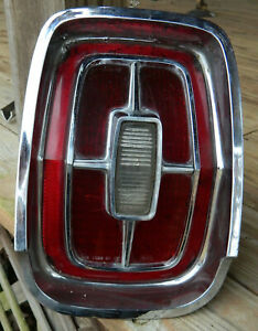1967 Ford Galaxie 500 Xl Tail Light Lens Assembly
