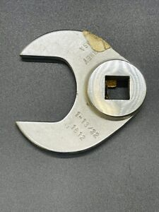 1 13 32 Usa Bonney Sae Line Open End Crowfoot Wrench Aviation Thin Jaw 1 2 Drive