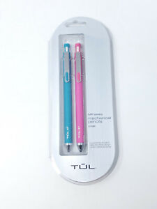 Tul Mechanical Pencils Teal Pink 0 7mm New Sealed