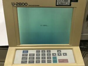 Hitachi Spectrophotometer U 2800 In Good Working Condition