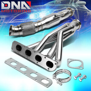 Stainless Steel Header flex Downpipe For 04 07 Cobalt 2 0 Lsj Exhaust manifold