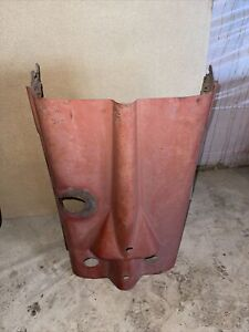 Farmall Ih H Hv Tractor Original Early Ihc Engine Motor Hood Cover W 3 Clips