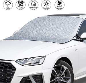 Car Windshield Cover Suv Magnetic Snow Cover Extra Large Windscreen Cover