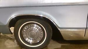 1968 Chrysler Imperial Driver Left Fender wheel Arch Molding Oem Thin Chrome