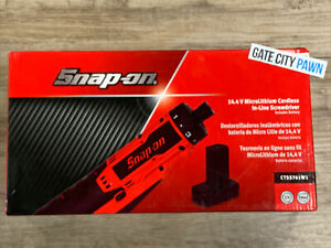 Snap On Tools 14 4v Cordless Inline Screwdriver 1 4 Drive Ctss761 W 2 5ah Batt