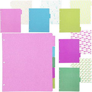 3 Ring Binder Dividers 9 5 X 11 In 10 Pack