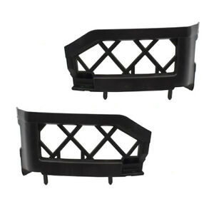 New Pair Front Bumper Side Bracket For Nissan Frontier Pickup Truck Pathfinder