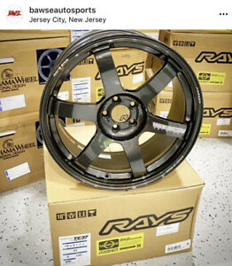Volk Racing Te37 Saga 18x9 5 43 5x100 In Stock