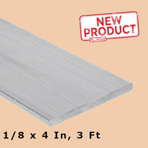 2 Pack Aluminum Bar Flat Stock 1 8 Inch X 4 Inch X 3ft Unpolished Alloy 6061 36