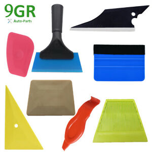 8pcs Car Window Tinting Squeegee Auto Film Wrapping Install Applicator Tools Kit
