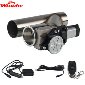 2 5 Inch Electric Exhaust Cutout Valve Catback Y Pipe With Controller Remote Kit