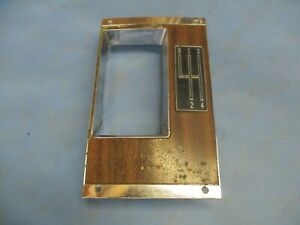 1968 1969 68 69 Camaro Ss 396 Z28 302 4 Speed Console Top Plate