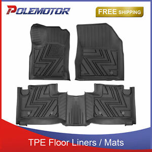 Set Front rear Tpe Floor Mats Liners For Jeep Grand Cherokee 2013 2014 2015