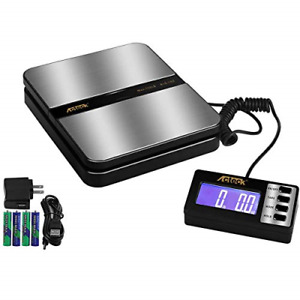 Acteck 150lb X 0 1 Oz Extended Display Digital Shipping Postal Scale With Ac