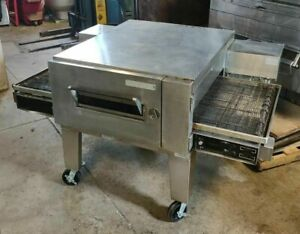 Lincoln Impinger 32 1600 Low Profile Stacking Gas Conveyor Pizza Oven Tested