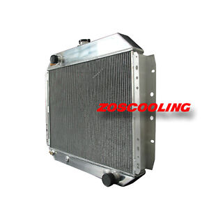 Radiator For Ford Truck Chevy F 100 F 150 66 79 Aluminum V8 3rows At 833 Spawon