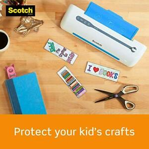 Scotch Thermal Laminating Pouches 5 Mil Thick Professional Quality 100 pouches