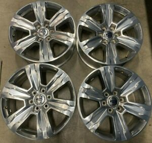 Four 2015 2018 Ford F150 Platinum Factory 20 Wheels Rims Oem 10004 Expedition