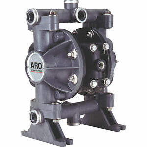 Aro Air operated Double Diaphragm Oil Pump 1 2in Ports 13 Gpm