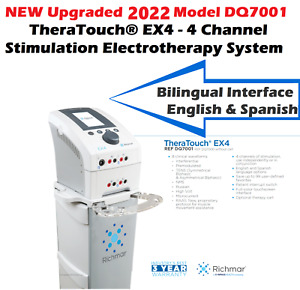 New 2021 Richmar Ex4 Upgrade From Roscoe Medical Intensity Ex4 Muscle Stimulator