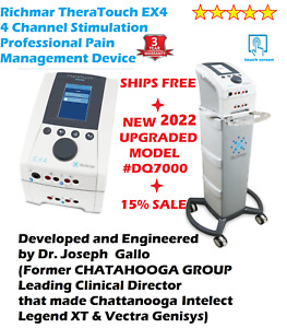Roscoe Medical Intensity Ex4 4 channel Stimulator Upgrade From Chattanooga