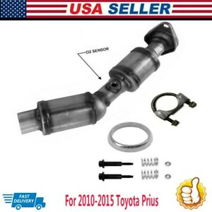 Catalytic Converter 1 8l W Gasket For 2010 2011 2012 2013 2014 2015 Toyota Prius