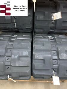 2 Cat 289d High Quality Affordable Rubber Tracks 450x86x56 C Pattern