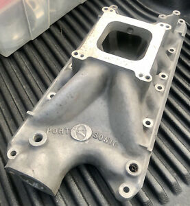 Ford 289 302 Intake Manifold Offenhauser Port O Sonic 6071 Shelby Cobra Gt350