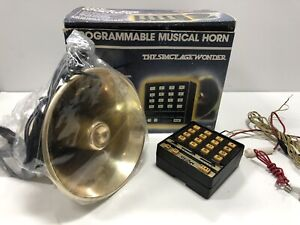 Vintage Jubilee Car Truck Horn Musical 107 Speaker Is New Control Is Bad Cond