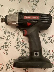 Craftman Impact Gun With Battery And Charger