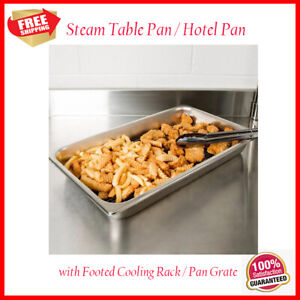 Full Size 2 1 2 Stainless Steel Fry Dump Station Pan And Cooling Rack
