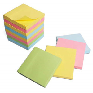 Sticky Notes 3x3 In 12 Pack Post Bright Stickies Super Sticking Memo Pads Strong