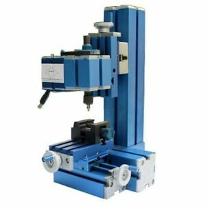 Metal Mini Milling Machine Micro Diy Woodworking Power Tool For Student Hobby