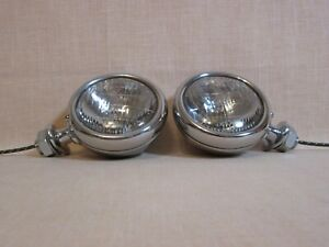 Restored Original 1932 Ford Cowl Lights Show Car Quality And Awesome Detail