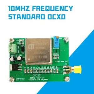 New 10mhz Frequency Standard Ocxo Frequency Reference Board Sine Wave For Radio