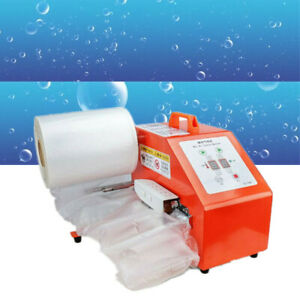 Automatic Inflated Air Cushion Wrap Machine Electric Air Pillow Packaging Bags