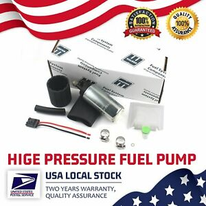 Walbro Ti Gss342 255lph High Pressure Racing Intank Fuel Pump Filter 12v Genuine