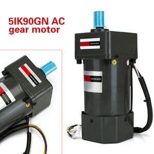 Ac 110v 60hz Gear Reducer Motor Ac Speed Controller Variable electric Motor Usa