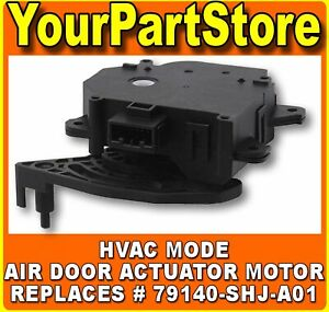 A c Heater Ac Defrost Heat Mode Control Door Actuator Motor For Honda Acura